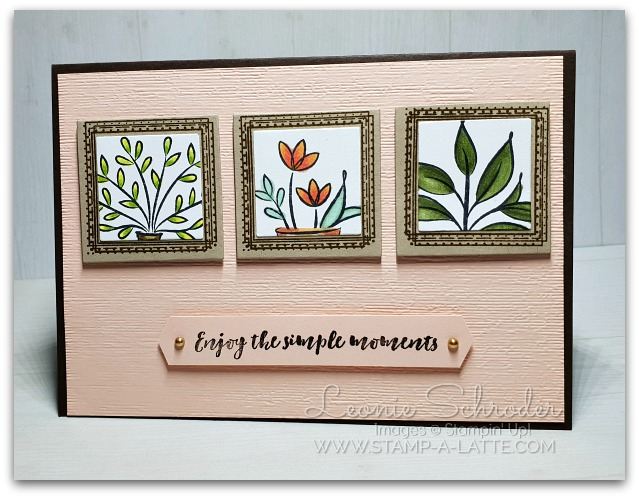 Swirly Frame Moments by Leonie Schroder Independent Stampin' Up! Demonstrator Australia