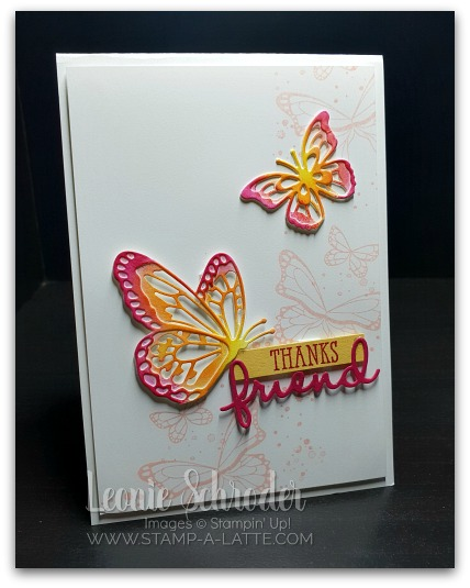 Butterfly Beauty by Leonie Schroder Independent Stampin' Up! Demonstrator Australia