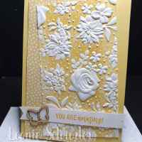 Country FLoral in So Saffron with Wooden Elements by Leonie Schroder Independent Stampin' Up! Demonstrator Australia