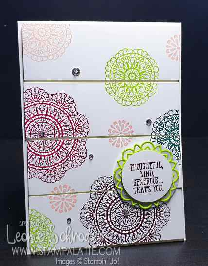 Dear Doily retiring In Colors by Leonie Schroder Independent Stampin' Up! Demonstrator Australia