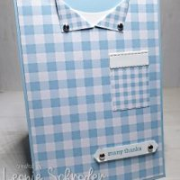 Gingham Gala for the Guys by Leonie Schroder Independent Stampin' Up! Demonstrator Australia
