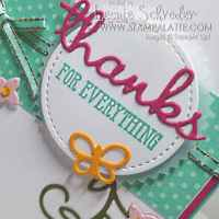 Well Said Thanks by Leonie Schroder Independent Stampin' Up! Demonstrator Australia
