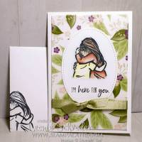 Here for You using Artfully Aware by Leonie Schroder Independent Stampin' Up! Demonstrator Australia