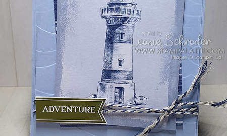 Come Sail Away Memories & More cards perfect for quick and easy cards like this one by Leonie Schroder Independent Stampin' Up! Demonstrator Australia