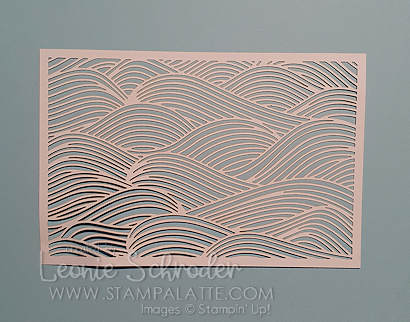 emboss cardstock with your laser-cut panels from your memories & more packs by Leonie Schroder Independent Stampin' Up! Demonstrator Australia