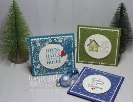 Brightly Gleaming Cards from my Christmas Box by Leonie Schroder Independent Stampin' Up! Demonstrator Australia