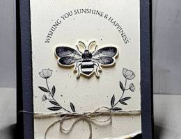Share Sunshine & Happiness with Honey Bee Bundle by Leonie Schroder Independent Stampin' Up! Demonstrator Australia