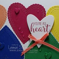send love with the retiring In Colors created by Leonie Schroder Independent Stampin' Up! Demonstrator Australia