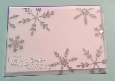 Handy tips for using Vellum by Leonie Schroder Independent Stampin' Up! Demonstrator Australia