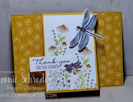 Dandy Garden Flap Card created by Leonie Schroder Independent Stampin Up! Demonstrator Australia