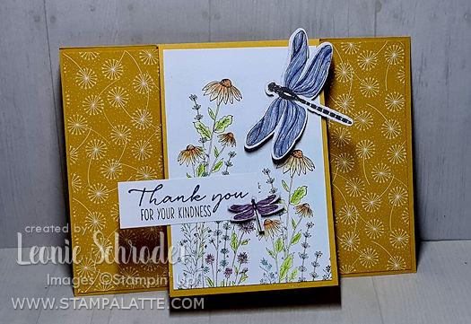 Dandy Garden Flap Card created by Leonie Schroder Independent Stampin Up! Demonstrator Australia