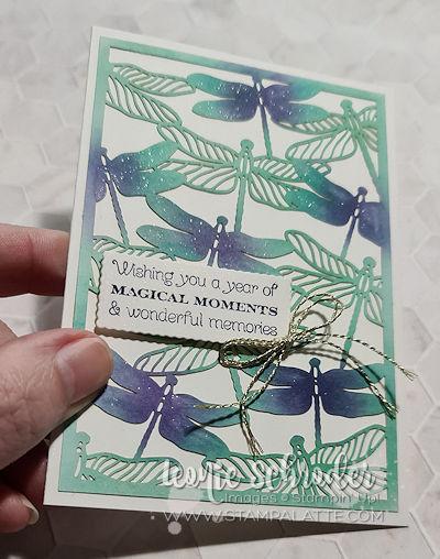 Dragonfly GLimmer by Leonie Schroder Independent Stampin' Up! Demonstrator Australia