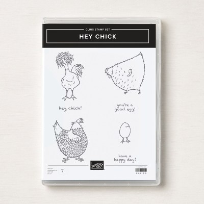 Hey Chick Stamp Set - get it now from Leonie Schroder Independent Stampin Up! Demonstrator Australia