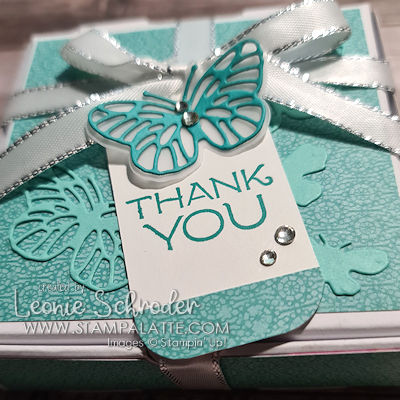 Bouquet Thank You Box made by Leonie Schroder Independent Stampin Up Demonstrator Australia
