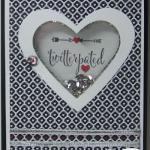 Valentine Shaker Card