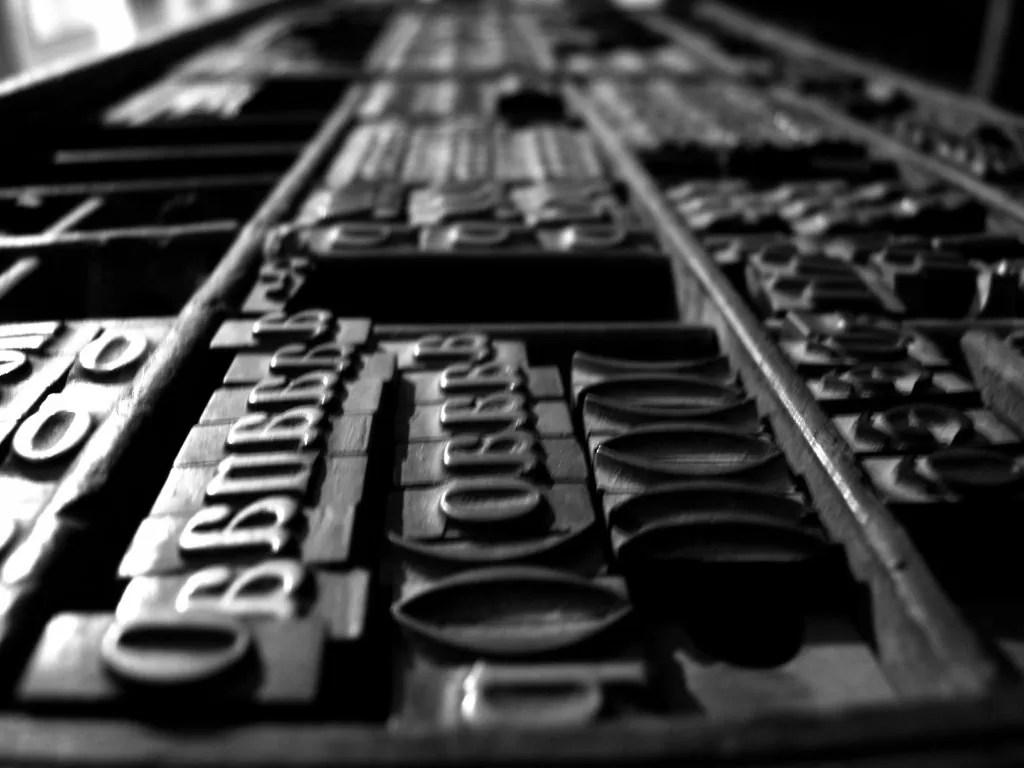De la xilografía a los tipos móviles: técnicas de impresión