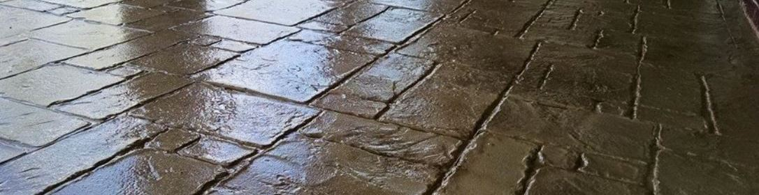 Stamped Concrete Clear Sealer