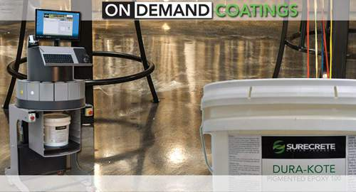 Concrete Paint On Demand