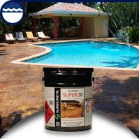 SureSeal Super 30 - 30% Solids Concrete Overlay Acrylic Sealer
