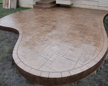 Ruggero Cement Stamped Concrete Patios Macomb Mi