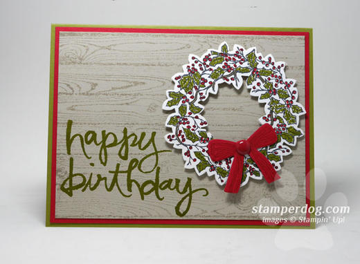 Do You Need A Christmas Birthday Card Stampin Up