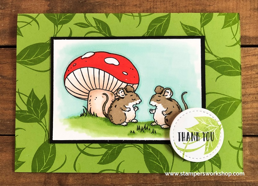 Stampers Workshop - Thank You - Sweet Storybook