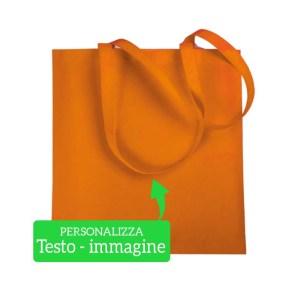 Shopping bag in TNT 38x42cm vari colori