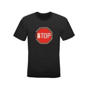 T-shirt Tonno Tonno Tonno S-TOP bianca o nera