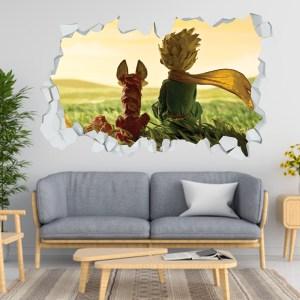 Adesivo Murale 3D ~ Piccolo Principe