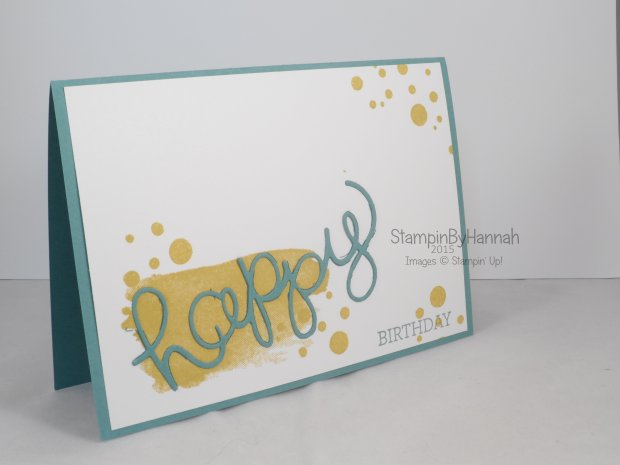 Stampin' Up! Uk mens birthday crazy about you