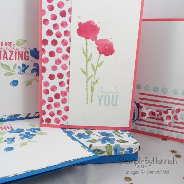 Stampin' Up! UK Free online workshop giveaway painted petals