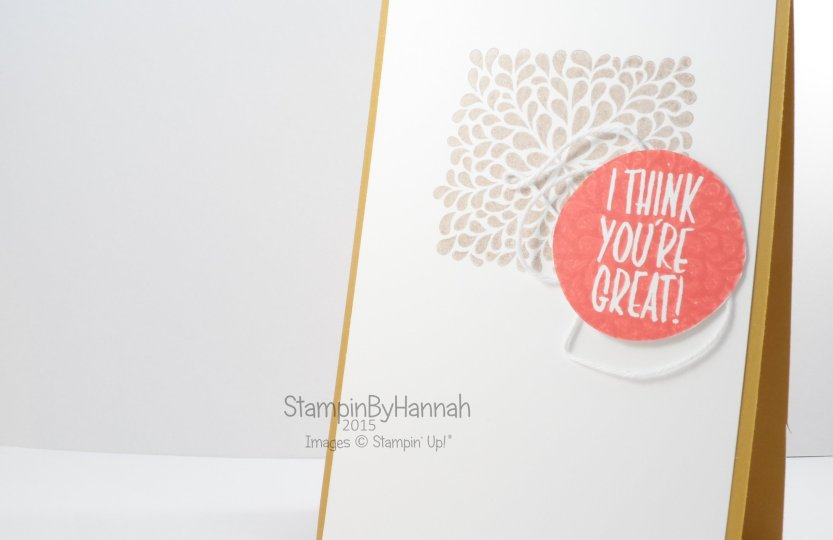 Stampin' Up! UK I think your great kissing