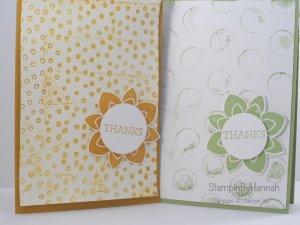 Stampin' Up! UK embossing folders decorative dots