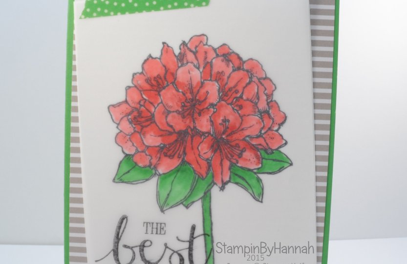 Stampin' Up! UK Best Thoughts