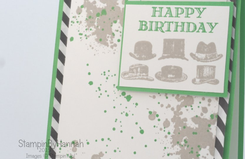 Stampin' Up! UK Male cards