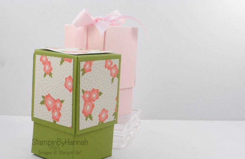 Stampin' Up! UK tealight box