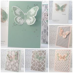 Stampin' Up! UK watercolour wings card class