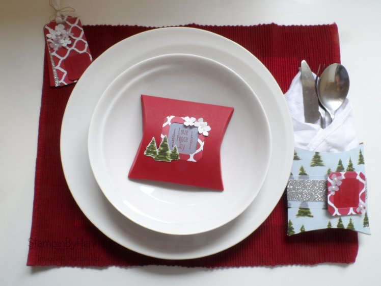 Stampin' Up! UK Christmas Table Pootles Blog Hop