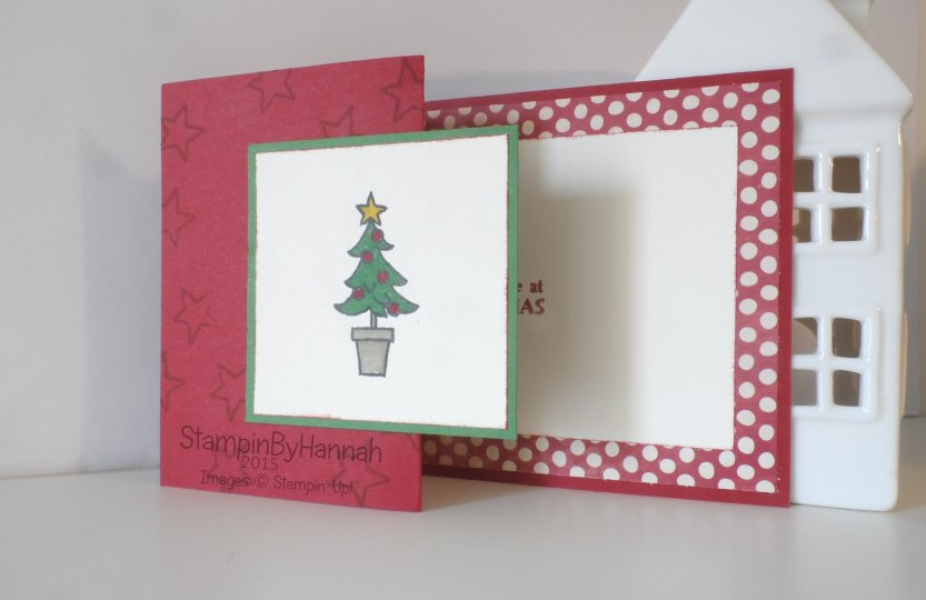 Stampin' Up! UK Santa's gifts Christmas card
