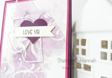 Stampin Up! UK Everything Eleanor Valentines