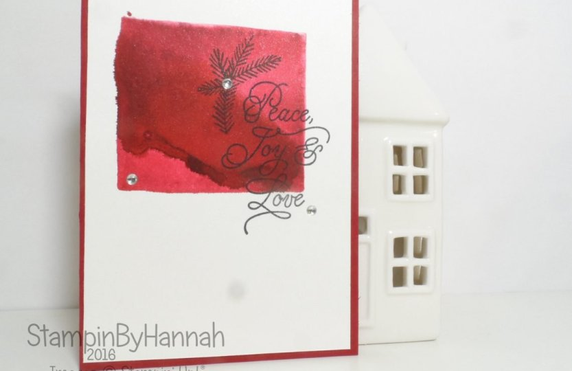Christmas in july Peace this christmas from Stampin' Up! UK