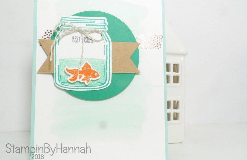 Stampin' Up! UK Card Case Jar of Love