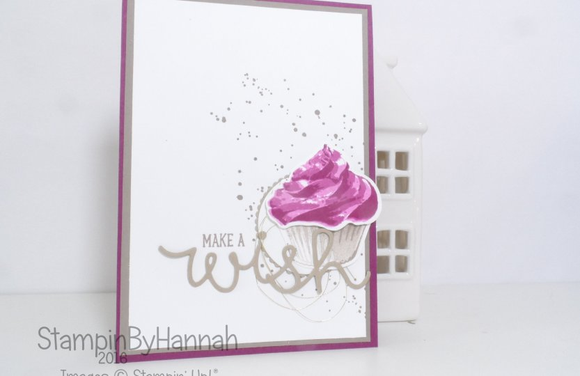 Make It Monday Ombre Stamping Technique video using Sweet Cupcake and Gorgeous Grunge from Stampin' Up! UK