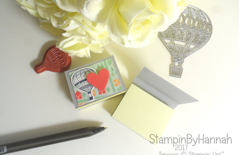 Make It Monday Sticky Note Holder Video Tutorial using Lift Me Up from Stampin' Up! UK