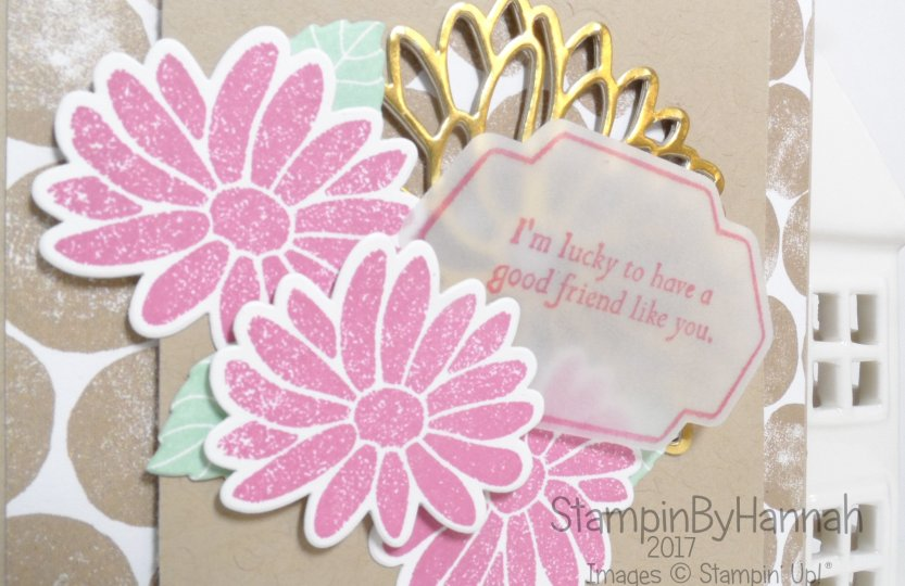 Special Friend Card using Special Reason from Stampin' Up! UK