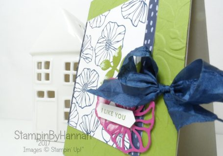 Fun floral card using the Oh So Eclectic Bundle from Stampin' Up! UK