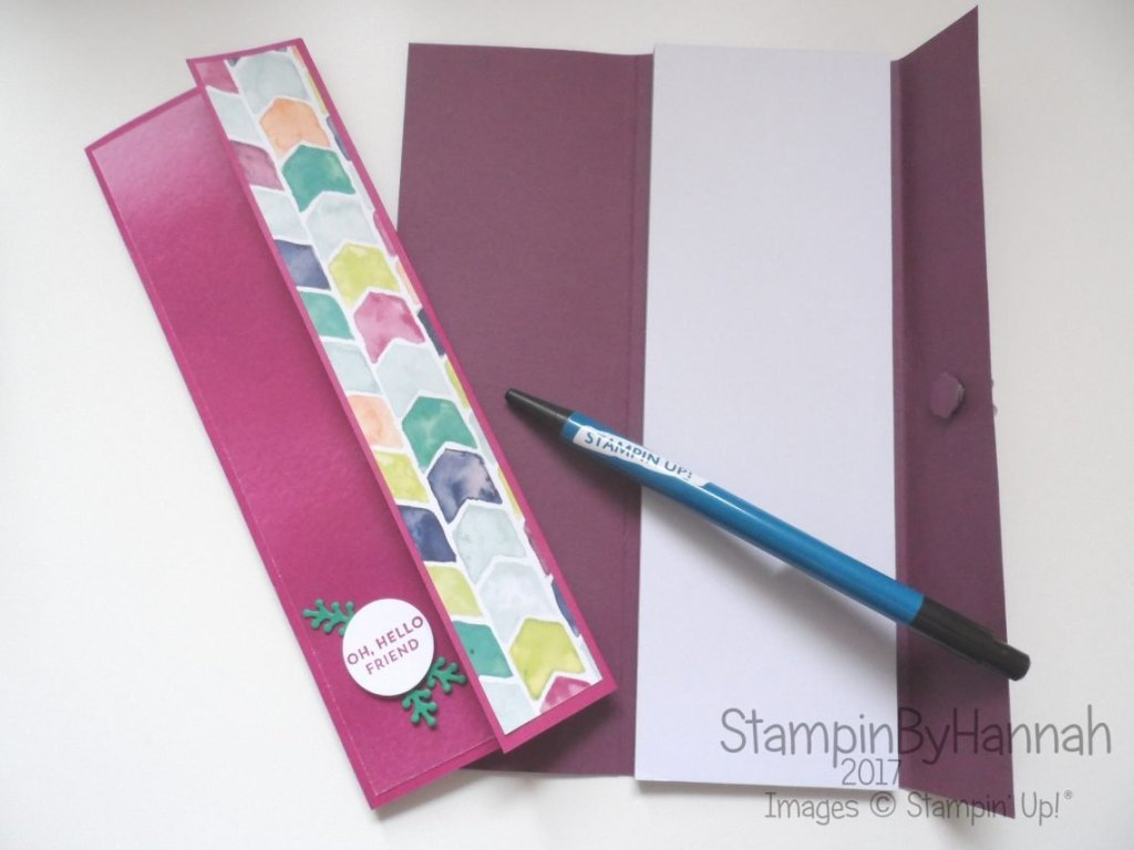 Make It Monday Video Tutorial Magnetic Notebook covers using Oh So Eclectic from Stampin' Up!