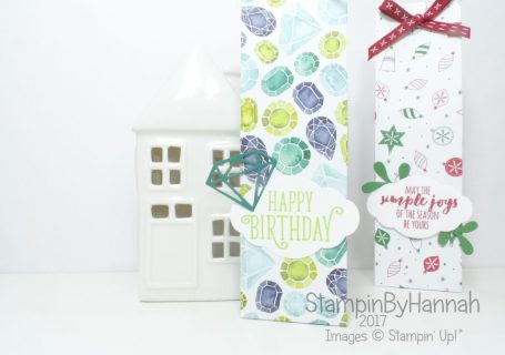 Make It Monday Gift Bag using Designer Series Paper from Stampin' Up!