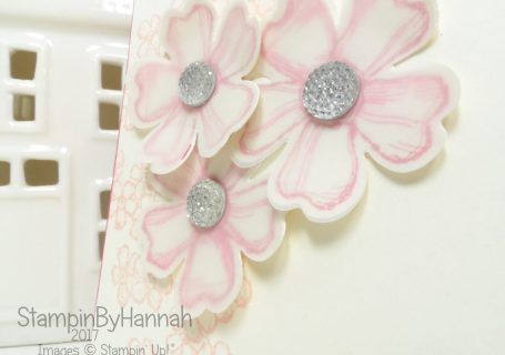 Perfect Floral Birthday Wedding Card for Learn to Stamp Club using Birthday Blossoms Stamp Set from Stampin' Up!