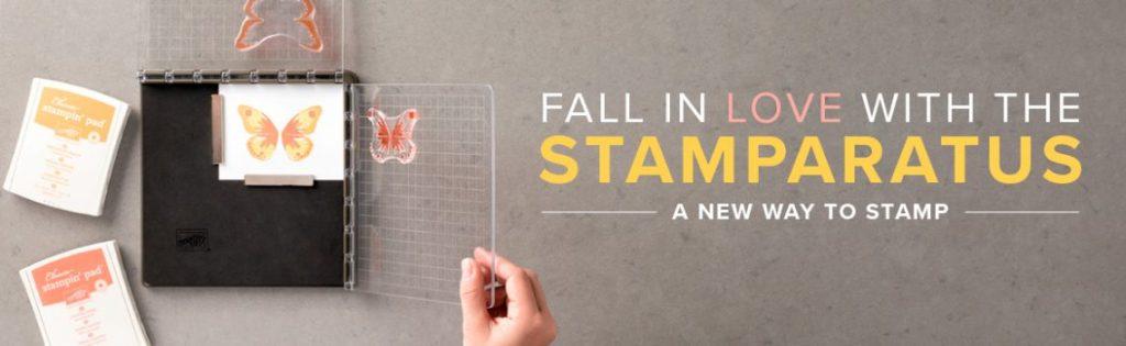 Stampin' Up! Stamping Positioning Tool Stamparatus